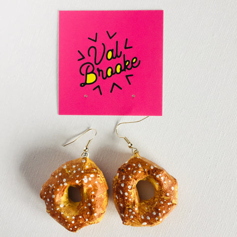 Montreal Bagel Earrings