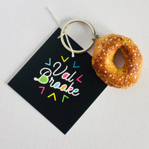 Montreal Bagel Keychain