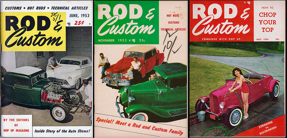 Vintage and Collectible Rod & Custom Magazines