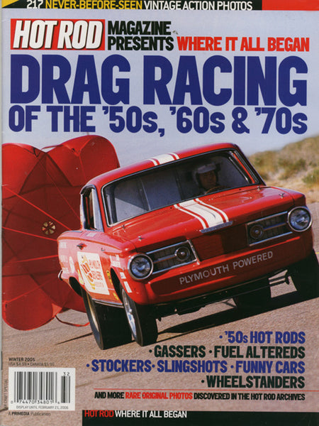 Drag Racing of the '50s, '60s & '70s magazne cover by Hot Rod Magazine - Nitroactive.net
