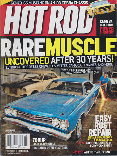 August 2006 Hot Rod Magazine