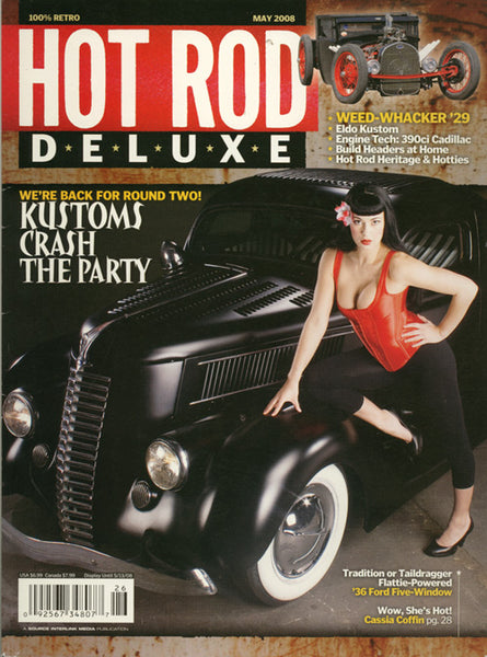 May 2008 Hot Rod Deluxe Magazine