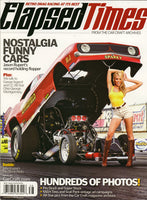 Elapsed Times Magazine #1 Annual 2011 Cover Image Funny Car