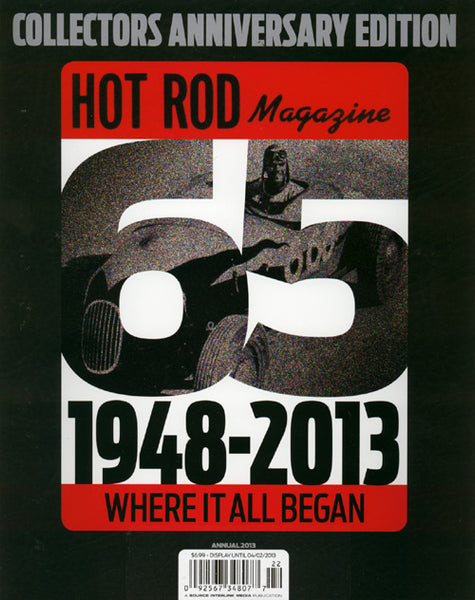 Hot Rod Magazine 65 Years Special Issue 2013