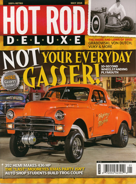 Hot Rod Deluxe Magazine May 2018