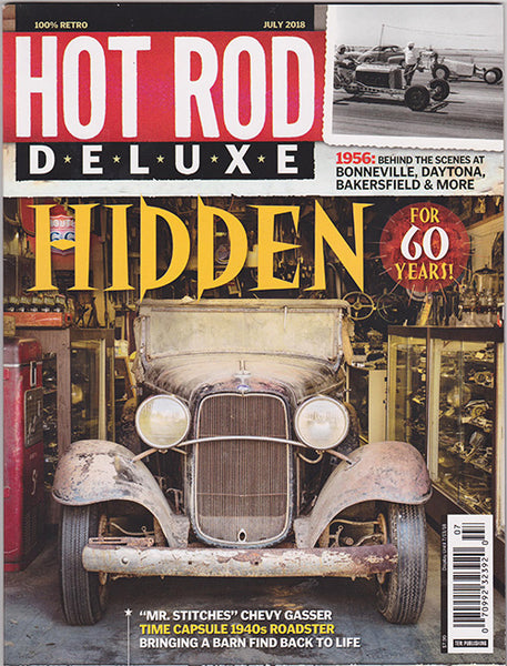 Hot Rod Deluxe Magazine July 2018