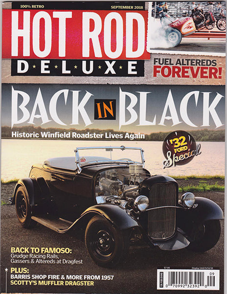 Hot Rod Deluxe Magazine September 2018