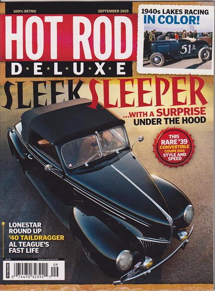 Hot Rod Deluxe September 2019