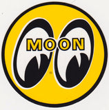 Authentic NOS Moon 3-inch Sticker 1970s - Nitroactive.net