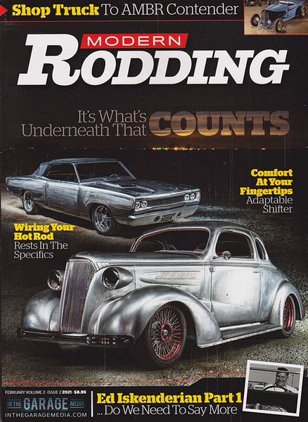February 2021 Volume 2 Issue 2 Modern Rodding Magazine - Nitroactive.net