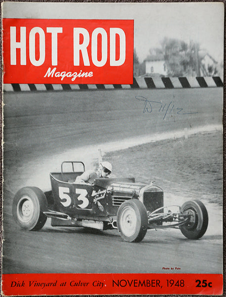 November 1948 Hot Rod Magazine - Nitroactive.net