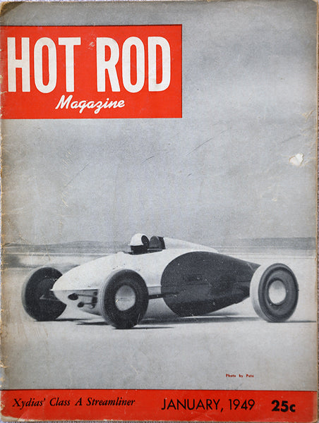 January 1949 Hot Rod Magazine - Nitroactive.net