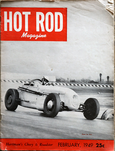 February 1949 Hot Rod Magazine - Nitroactive.net