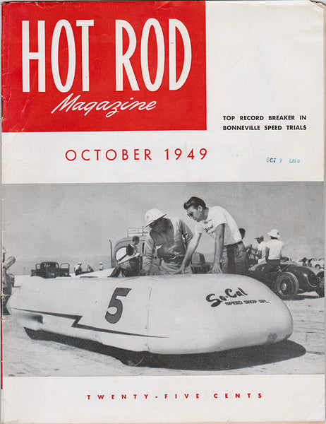 October 1949 Hot Rod Magazine - Nitroactive.net