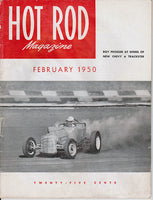 February 1950 Hot Rod Magazine