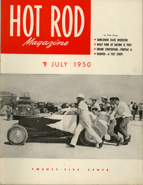 July 1950 Hot Rod Magazine - Nitroactive.net