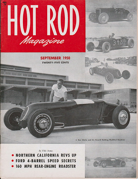 September 1950 Hot Rod Magazine