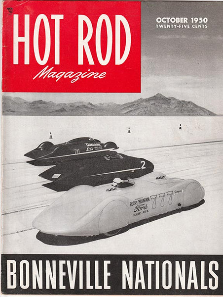 October 1950 Hot Rod Magazine - Nitroactive.net
