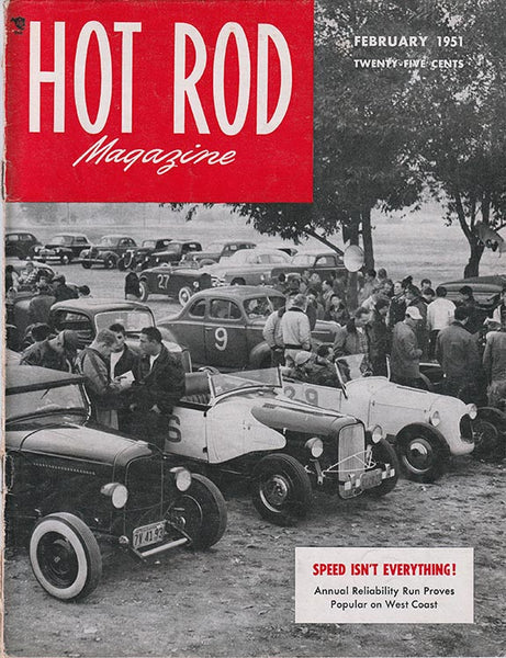 February 1951 Hot Rod Magazine - Nitroactive.net