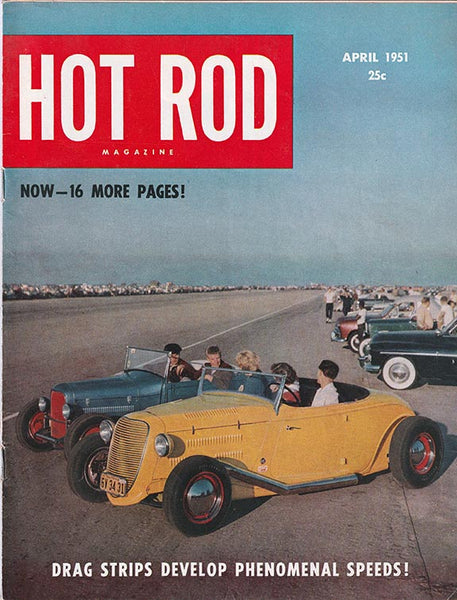 April 1951 Hot Rod Magazine - Nitroactive.net