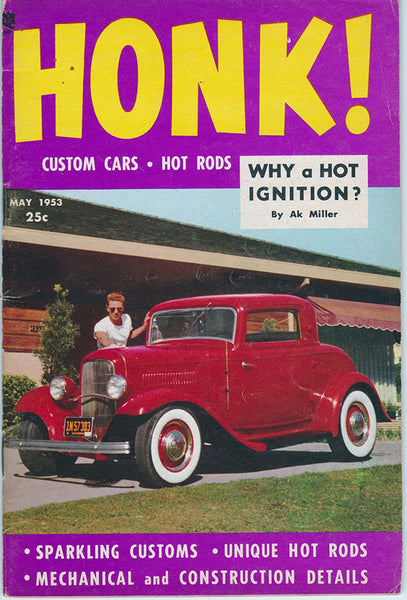 May 1953 Honk - First Issue - Nitroactive.net