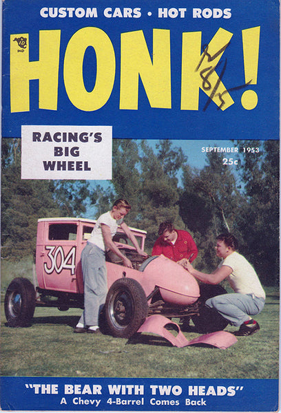 September 1953 Honk! Magazine