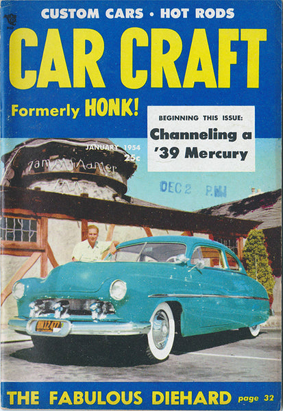 January 1954 Car Craft