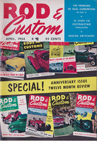 April 1954 Rod & Custom Magazine - Nitroactive.net
