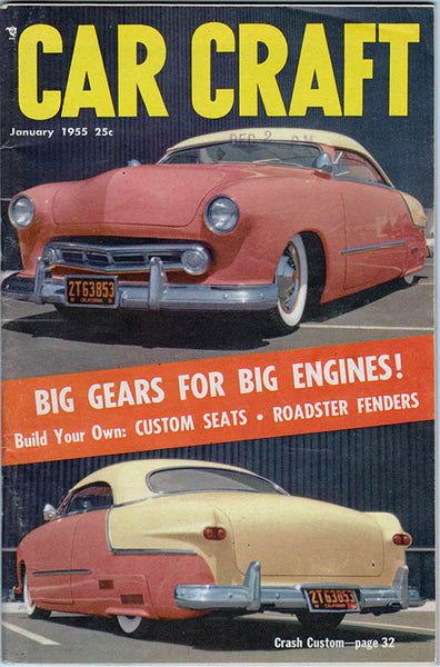 January 1955 Car Craft