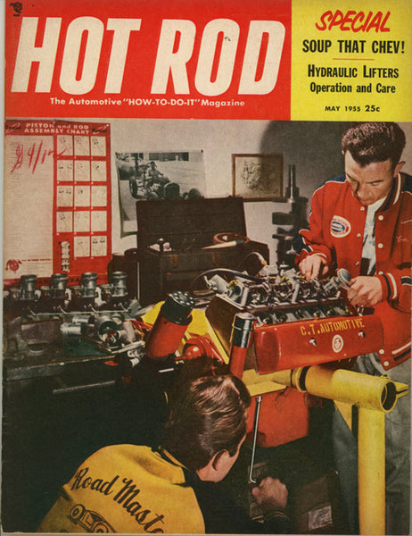 May 1955 Hot Rod Magazine - Nitroactive.net
