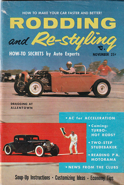 November 1955 Rodding and Restyling - Nitroactive.net