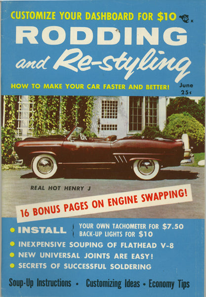June 1956 Rodding and Re-styling - Nitroactive.net