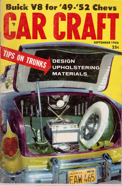 September 1956 Car Craft