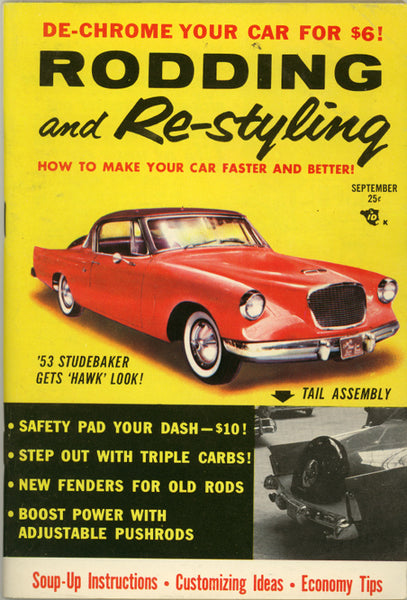 September 1956 Rodding and Re-styling - Nitroactive.net