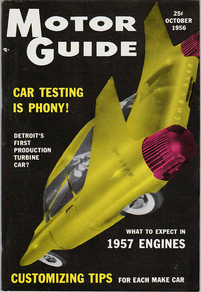October 1956 Motor Guide Magazine