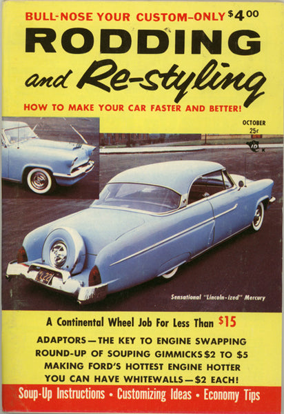 October 1956 Rodding and Re-styling - Nitroactive.net