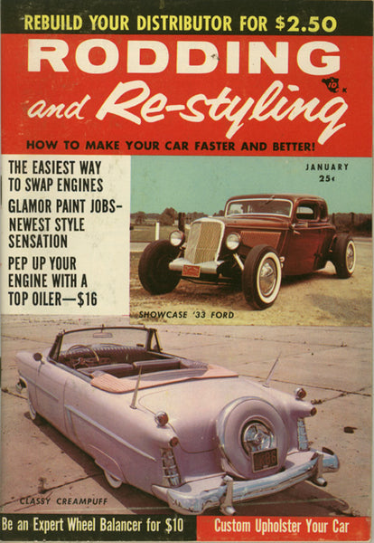 January 1957 Rodding and Re-styling - Nitroactive.net