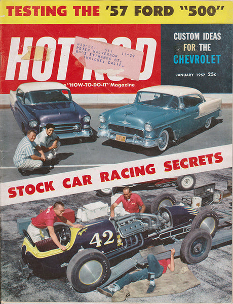 January 1957 Hot Rod Magazine - Nitroactive.net