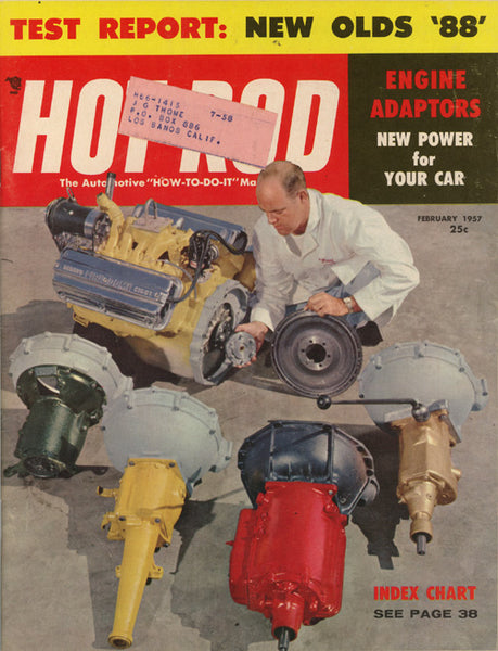Hot Rod Magazine February 1957 - Nitroactive.net