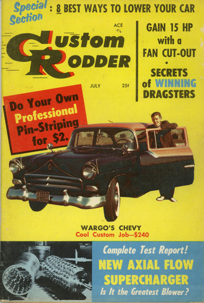 Custom Rodder July 1957