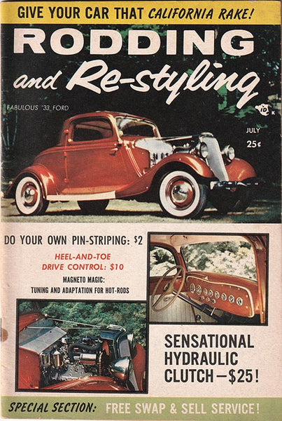 July 1957 Rodding and Re-styling - Nitroactive.net