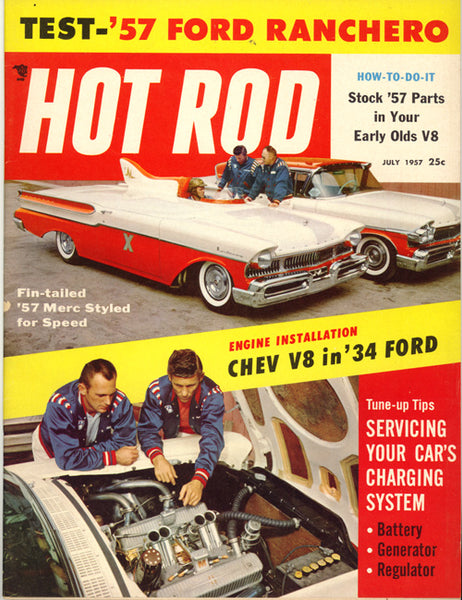 Hot Rod Magazine July 1957 - Nitroactive.net