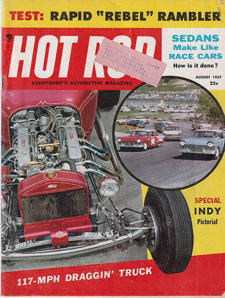 August 1957 Hot Rod Magazine - Nitroactive.net