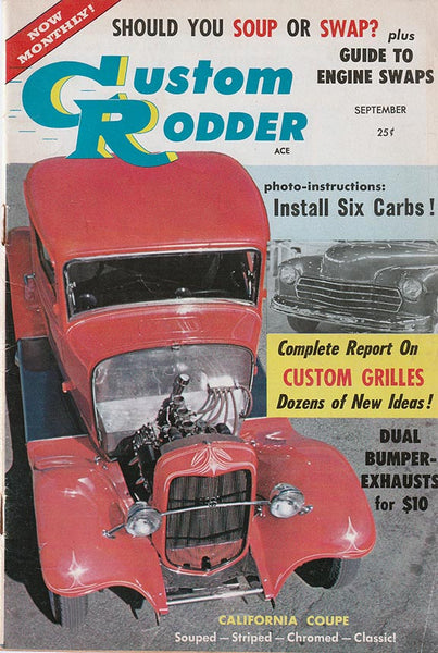 Custom Rodder September 1957