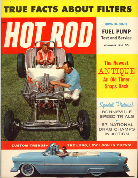 November 1957 Hot Rod Magazine - Nitroactive.net
