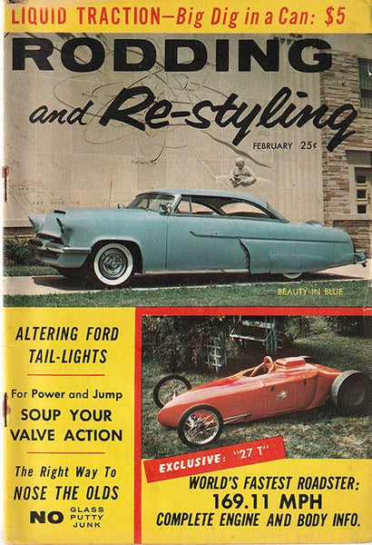 February 1958 Rodding and Re-styling - Nitroactive.net
