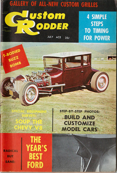 July 1958 Custom Rodder