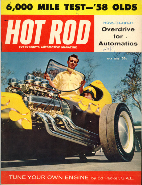 July 1958 Hot Rod Magazine - Nitroactive.net
