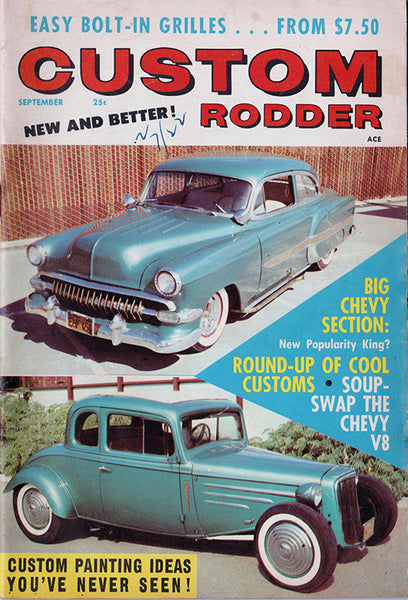September 1958 Custom Rodder