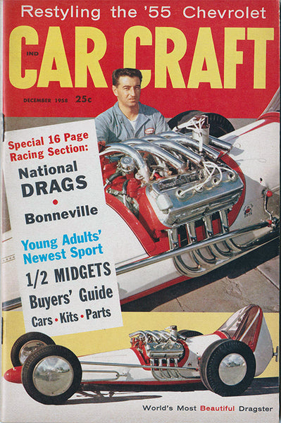 December 1958 Car Craft